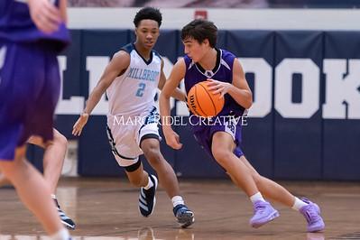 Broughton JV basketball vs Millbrook. January 13, 2020. D4S_8576
