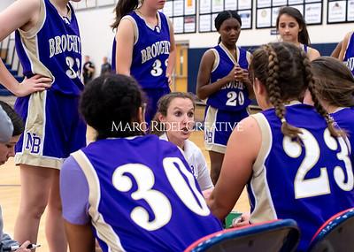 Broughton girls basketball at Apex Friendship. November 19, 2019. D4S_4355