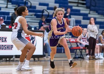 Broughton girls basketball at Apex Friendship. November 19, 2019. D4S_4303