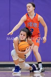 Broughton JV and varsity girls basketball vs Athens Drive. December 6, 2019. MRC_8179