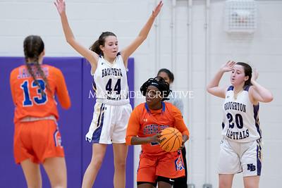 Broughton JV and varsity girls basketball vs Athens Drive. December 6, 2019. MRC_8171
