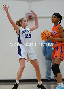Broughton JV and varsity girls basketball vs Athens Drive. December 6, 2019. MRC_8010
