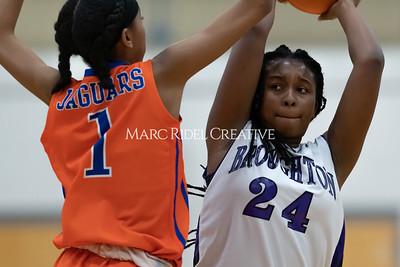 Broughton JV and varsity girls basketball vs Athens Drive. December 6, 2019. MRC_7919