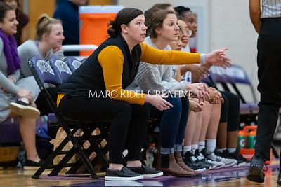 Broughton JV and varsity girls basketball vs Athens Drive. December 6, 2019. MRC_7933