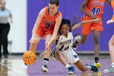 Broughton JV and varsity girls basketball vs Athens Drive. December 6, 2019. MRC_8157