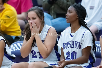 Broughton JV and varsity girls basketball vs Athens Drive. December 6, 2019. MRC_7974