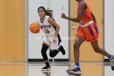 Broughton JV and varsity girls basketball vs Athens Drive. December 6, 2019. MRC_7910
