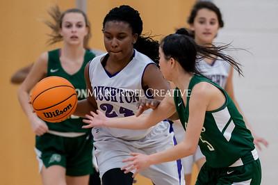 Broughton girls JV basketball vs Cardinal Gibbons. January 6, 2020. D4S_6007