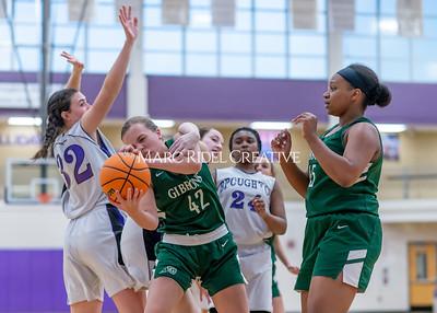 Broughton girls JV basketball vs Cardinal Gibbons. January 6, 2020. D4S_6087