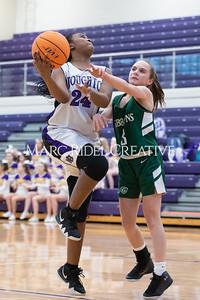 Broughton girls JV basketball vs Cardinal Gibbons. January 6, 2020. D4S_5943