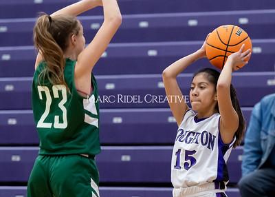Broughton girls JV basketball vs Cardinal Gibbons. January 6, 2020. D4S_6041