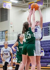 Broughton girls JV basketball vs Cardinal Gibbons. January 6, 2020. D4S_6053