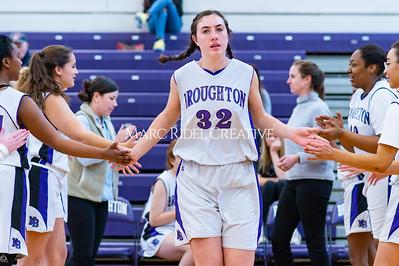 Broughton girls JV basketball vs Cardinal Gibbons. January 6, 2020. D4S_5913