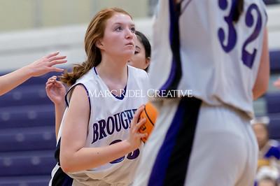 Broughton girls JV basketball vs Cardinal Gibbons. January 6, 2020. D4S_5960