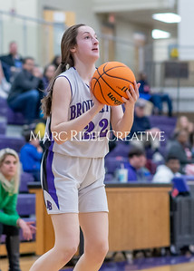 Broughton girls JV basketball vs Cardinal Gibbons. January 6, 2020. D4S_6097