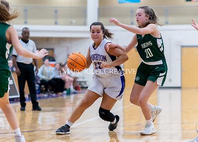 Broughton girls JV basketball vs Cardinal Gibbons. January 6, 2020. D4S_6070
