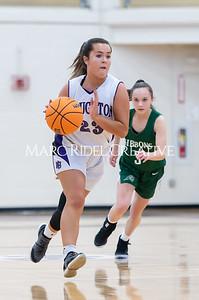 Broughton girls JV basketball vs Cardinal Gibbons. January 6, 2020. D4S_5955