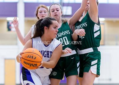 Broughton girls JV basketball vs Cardinal Gibbons. January 6, 2020. D4S_6074