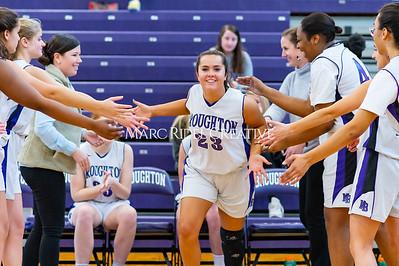 Broughton girls JV basketball vs Cardinal Gibbons. January 6, 2020. D4S_5909