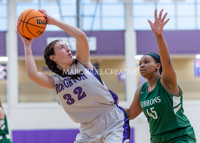Broughton girls JV basketball vs Cardinal Gibbons. January 6, 2020. D4S_6109