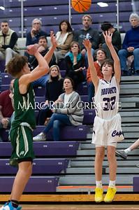 Broughton boys JV basketball vs Cardinal Gibbons. January 6, 2020. D4S_6642