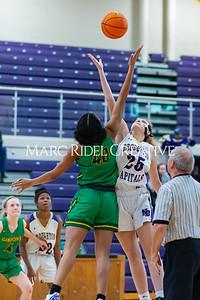 Broughton girls varsity basketball vs Cardinal Gibbons. January 7, 2020. D4S_7070