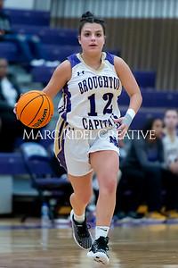 Broughton girls varsity basketball vs Cardinal Gibbons. January 7, 2020. D4S_7105