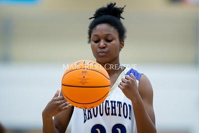 Broughton girls varsity basketball vs Cardinal Gibbons. January 7, 2020. MRC_0130