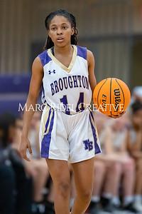 Broughton girls varsity basketball vs Cardinal Gibbons. January 7, 2020. MRC_0079