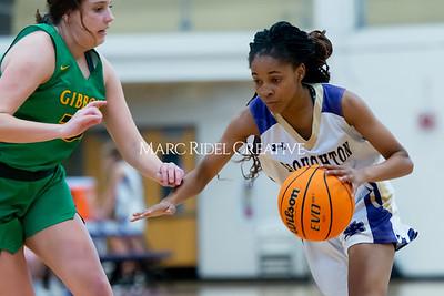 Broughton girls varsity basketball vs Cardinal Gibbons. January 7, 2020. D4S_7085