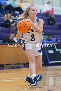 Broughton Lady Caps varsity basketball vs Enloe. December 17, 2019. D4S_8667