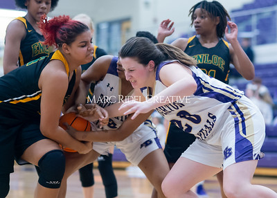 Broughton Lady Caps varsity basketball vs Enloe. December 17, 2019. D4S_8760