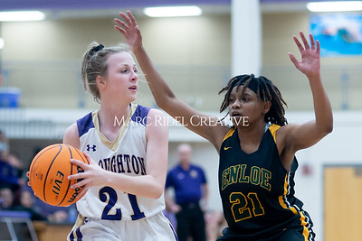 Broughton Lady Caps varsity basketball vs Enloe. December 17, 2019. D4S_8662
