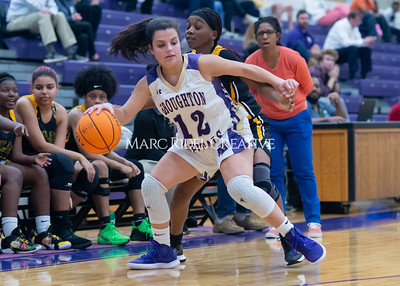 Broughton Lady Caps varsity basketball vs Enloe. December 17, 2019. D4S_8741