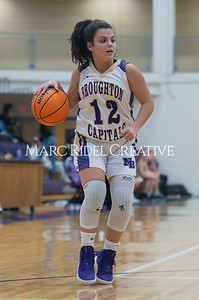 Broughton Lady Caps varsity basketball vs Enloe. December 17, 2019. D4S_8642
