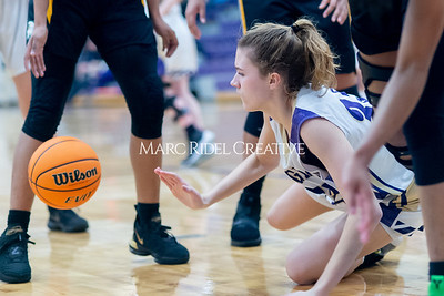 Broughton Lady Caps varsity basketball vs Enloe. December 17, 2019. D4S_8655