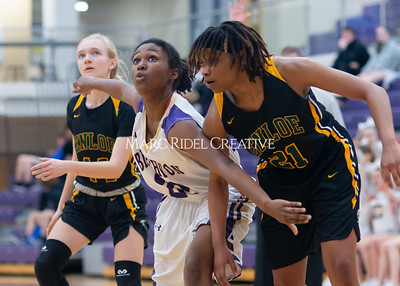 Broughton Lady Caps varsity basketball vs Enloe. December 17, 2019. D4S_8736