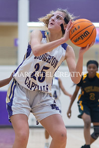 Broughton Lady Caps varsity basketball vs Enloe. December 17, 2019. D4S_8681