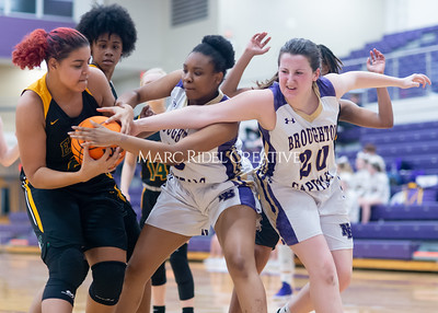 Broughton Lady Caps varsity basketball vs Enloe. December 17, 2019. D4S_8759