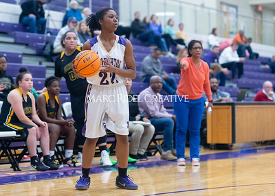 Broughton Lady Caps varsity basketball vs Enloe. December 17, 2019. D4S_8750
