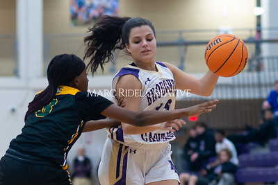 Broughton Lady Caps varsity basketball vs Enloe. December 17, 2019. D4S_8692