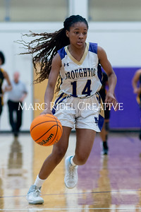 Broughton Lady Caps varsity basketball vs Enloe. December 17, 2019. D4S_8657