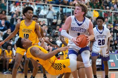 Broughton basketball vs Farmville Central. December 26, 2019. D4S_1150