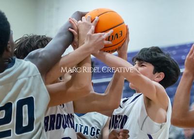 Broughton basketball vs Heritage. November 21, 2019. D4S_6990
