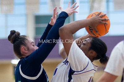 Broughton Lady Caps JV basketball vs Leesville. December 18, 2019. D4S_9696