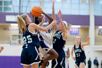 Broughton Lady Caps JV basketball vs Leesville. December 18, 2019. D4S_9719