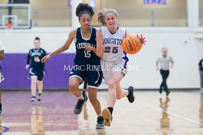 Broughton Lady Caps JV basketball vs Leesville. December 18, 2019. D4S_9675