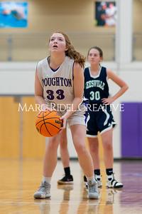 Broughton Lady Caps JV basketball vs Leesville. December 18, 2019. D4S_9795