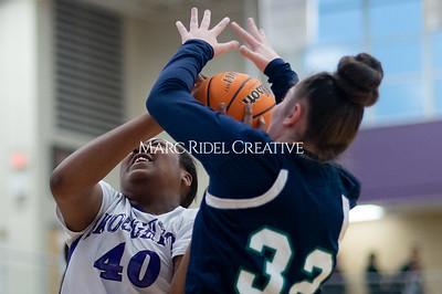 Broughton Lady Caps JV basketball vs Leesville. December 18, 2019. D4S_9694