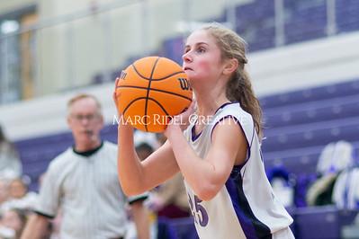 Broughton Lady Caps JV basketball vs Leesville. December 18, 2019. D4S_9677